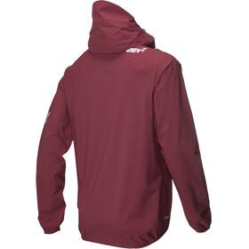 inov-8 W's AT/C Stormshell Fullzip Jacket dark red